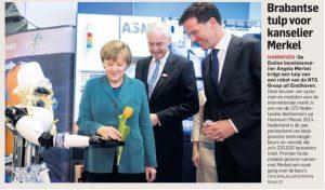 Merkel Rutte Marc en frau Antje